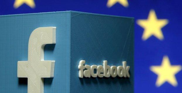 L'union europeenne demande des explications a facebook