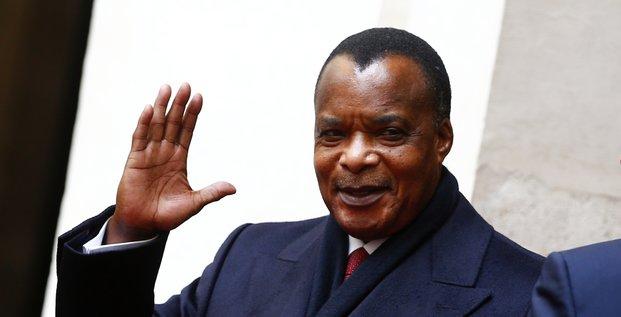 Sassou Nguessou Matteo Renzzi Congo brazzavile