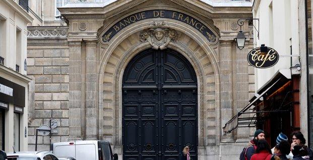 La banque de france abaisse sa prevision de croissance du premier trimestre a 0,3%