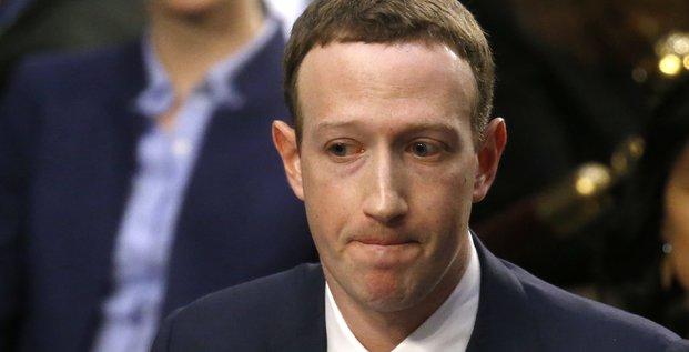 zuckerberg congrès cambridge analytica