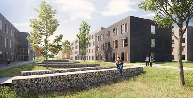 Domofrance, résidence étudiante à Pessac