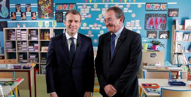 Macron, TF1, Pernaut