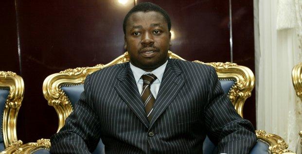 Faure Gnassingbé Togo Président trône