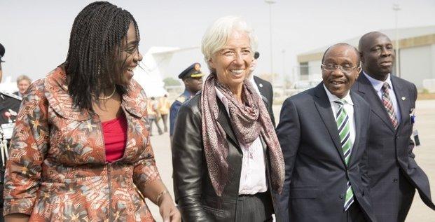 NIGERIA Kemi Adeosun Christine Lagarde Godwin Emefiele