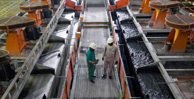Mines RDC Kamoto Copper Company