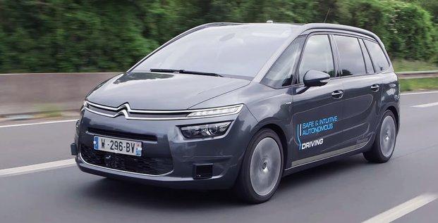 PSA, Citroen, voiture autonome, automobile,