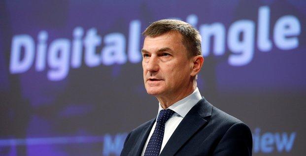 Andrus Ansip, Commission européenne,