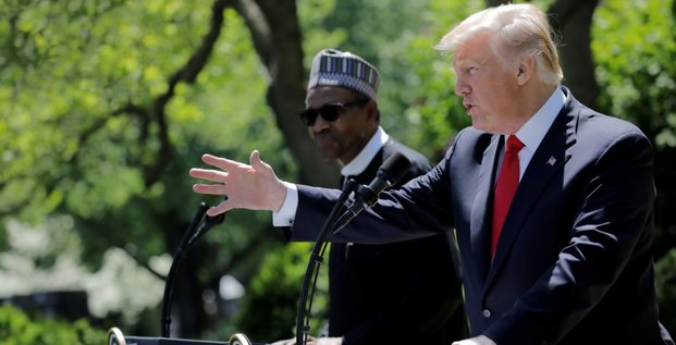 Buhari Trump Maison Blanche
