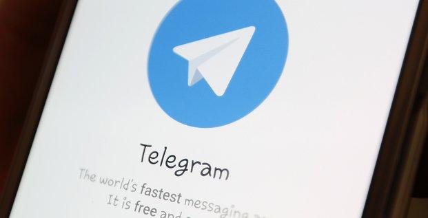 Le president iranien condamne l'interdiction de la messagerie telegram