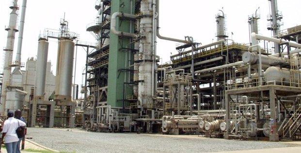 Raffinerie pétrole Tema Ghana