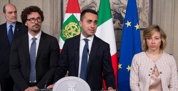 Italie: m5s et ligue poursuivent leurs negociations sur un gouvernement