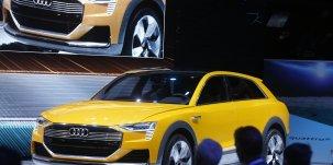 L'Audi h-tron Quattro