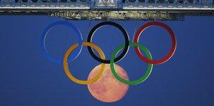 Anneaux olympiques à Londres