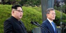 Rencontre de deux heures entre les dirigeants des deux corees