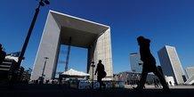 La Défense, Paris, quartier, Grande Arche,