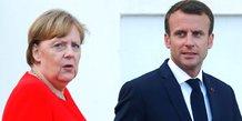Merkel, Macron, Meseberg