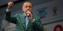 Derniers meetings pour erdogan et son adversaire