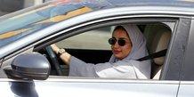 Femme au volant en Arabie Saoudite