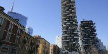 Milan, Bosco Verticale, immobilier, urbanisme, écologie, développement durable, végétalisation,