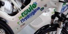 vélo roulant à l'hydrogène