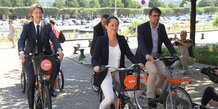 Bicloo, Nantes, vélo partagé, mobilités, Jean-Charles Decaux, Johanna Rolland,
