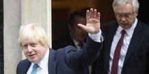 Boris Johnson, David Davis, Brexit,