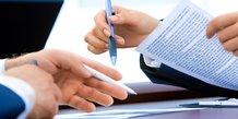 travail, embauche, signature