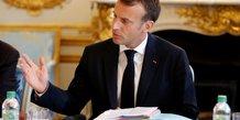 Macron insiste sur l'importance de la stabilite economique en turquie