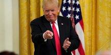 Trump estime qu'une audition par mueller pourrait etre un piege