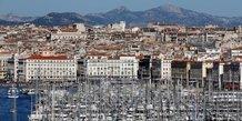 Marseille, Vieux Port,