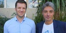 Benjamin Néel, fondateur de LabOxy, aux côtés de Mikael Bresson, président du groupe Phytocontrol