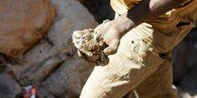 Cobalt RDC mines minerais mineurs métal métaux