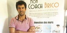 Dimitri De Cruz, fondateur et président de Mon Coach Brico
