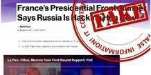 Fake News Russie
