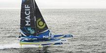 maxi-trimaran, Macif, navigateur, François Gabart, voile, compétition, Route du Rhum, course au large,