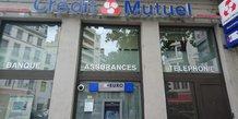 Crédit mutuel agence Lyon