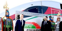 Macron Mohammed VI LGV Bouraq