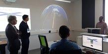 Au Centre spatial universitaire de Montpellier, spécialisé dans les nanosatellites