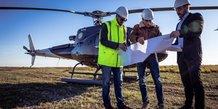 La compagnie d'hélicoptère montpelliéraine Heliteam