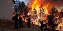 Incendie Californie, feu