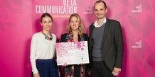 Prix de la communication (La Grande Motte) 2018 : agence Cible Publicité