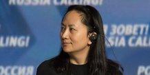 La directrice financiere de huawei devant un tribunal de vancouver