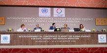 Conférence de marrakech bourita guterres ONU migration