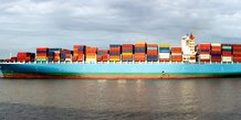 Fret, container, transport maritime