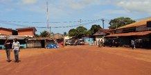 Gabon village
