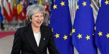 Brexit: may de retour a bruxelles, les europeens prudents