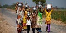 Femmes, Inde, climat, changement climatique, eau