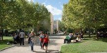 Le campus de Montpellier SupAgro