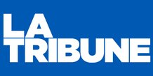 Logo élargi, La Tribune,
