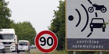France: droite et extreme droite contre les 80 km/h sur la route